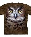 Vogel t-shirt uil volwassenen