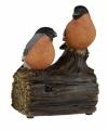 Vogel tuinbeeldje goudvinkjes geluid 11