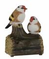 Vogel tuinbeeldje puttertjes geluid 11