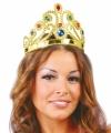 Voordelige prinsessen kroon diverse edelstenen