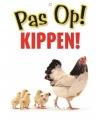 Waakbord pas op kippen 21 bij 15