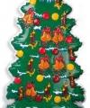 Wanddecoratie kerstboom 100