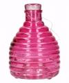 Wespenvanger van roze glas 18