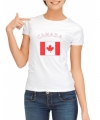 Wit dames t-shirt canada