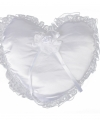 Wit trouwring kussen 30