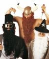 Witte baard snor