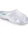 Witte bio sandalen heren