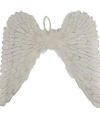 Witte engelen vleugels glitters