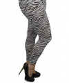 Zebra legging dames