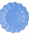 Zeeblauwe diepe bordjes 21