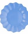 Zeeblauwe diepe bordjes 27