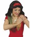 Zigeunerinnen pruik hoofdband