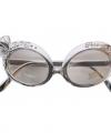 Zilveren diamand bril deluxe