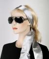 Zilveren hoofd sjaal riem