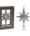 Zilveren piek ster vorm 25