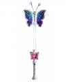 Zilveren toverstafje vlinder