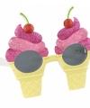 Zomer bril ijsjes montuur