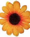 Zonnebloem broche 5