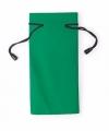 Zonnebrillen etui van stof groen 18