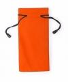 Zonnebrillen etui van stof oranje 18