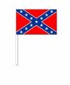 Zwaaivlaggetjes geconfedereerde staten van amerika 12 bij 24