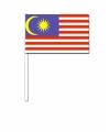 Zwaaivlaggetjes maleisie 12 bij 24