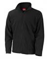 Zwart fleece vest viggo heren