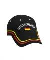 Zwarte deutschland baseball cap