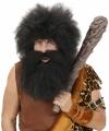 Zwarte holbewoner baard
