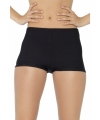 Zwarte hotpants dames