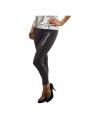 Zwarte legging pailletten