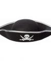 Zwarte piraten hoed volwassenen