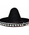 Zwarte sombrero 25 kinderen