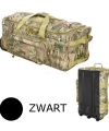 Zwarte trolley weekendtas